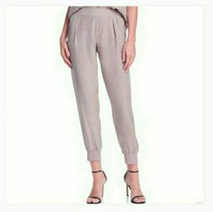 NWT Anthony Thomas Melillo 100% Silk Jogger Pants